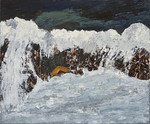 Rough sea, olieverf
